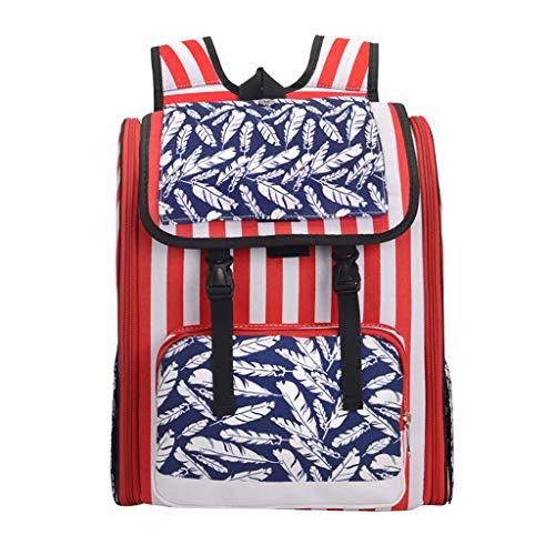 Out-of-The-Box tragbarer Rucksack American Flag Muster Rucksack Katze Hund Haustier Tasche Reisetasche Brusttasche Katzenrucksack,A