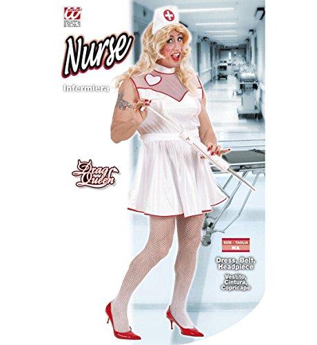 Imagen de widman  disfraz de enfermera de hospital para hombre, talla xl w3218  alternativa