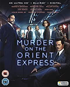 Murder on the Orient Express [4K UHD + Blu-ray + Digital Download] [2017]