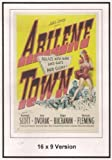Abilene Town 16x9 Widescreen TV. by Randolph Scott