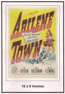 Abilene Town 16x9 Widescreen TV. by Randolph Scott