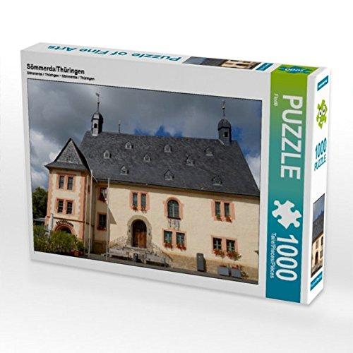 Sömmerda/Thüringen 1000 Teile Puzzle quer (CALVENDO Orte)