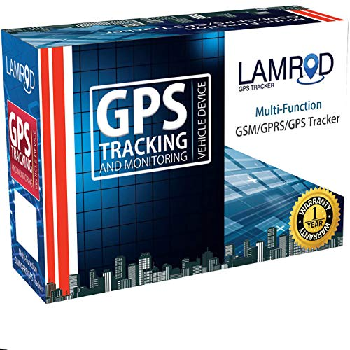 LAMROD Supreme Car/Bike Google Link GT02A GPS Tracker with Lifetime Free SMS Tracking