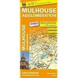 Plan de Mulhouse et de son agglomération