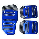 Dayiss® 3Pcs Auto rutschfest Pedal Schaltgetriebe Pedalhaken Pedalabdeckung Bremsen in 3 Farbe...