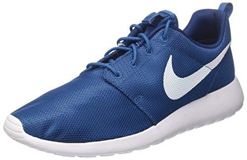 Nike Roshe One, Scarpe Running Uomo Blu (Industrial Blue/White/Coastal Blue/White)