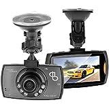 AB Dash Cam Full HD 1080p Digital para coches - mejor Amazon venta valor - HDMI DVR cámara para salpicadero con construido en G-sensor detección de movimiento visión nocturna por infrarrojos Grabación en bucle 170 grado amplia ángulo