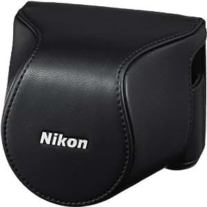Nikon CB-N2200S Leder-Systemtasche für Systemkamera-Serien 1 J3/1 S1 schwarz
