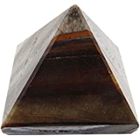 Indian Dekorative Brown Tiger Eye Pyramid Healing Feng Shui Heilende Energie- preisvergleich bei billige-tabletten.eu