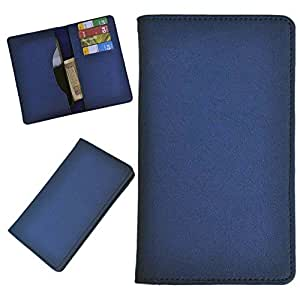DCR Pu Leather case cover for Blu Studio 5.0 (blue)