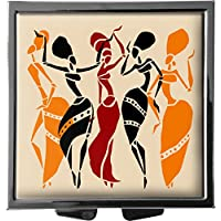 metALUm Pillendose/quadratisch / Modell Marco/Afrika - Frauen im Ethno - Stil / 41010022 preisvergleich bei billige-tabletten.eu