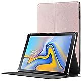 Forefront Cases Samsung Galaxy Tab A 10.5 Hülle | Magnetische Hülle und Ständer für Samsung Galaxy Tab A 10.5 Zoll Tablet-PC SM-T590/T595 | Automatische Schlaf-Wach-Funktion | Dünn Leicht | Roségold