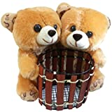 Saugat Traders Couple Teddy Pen Stand-16...
