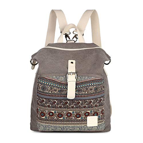 EVEOUT Mochila Hombro Casual Unisex Vintage College
