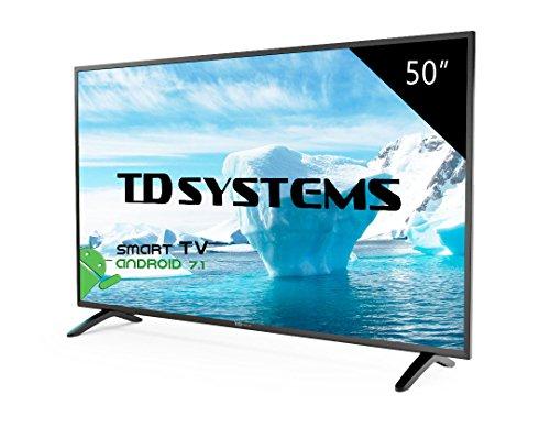 TD Systems K50DLM8FS - Smart TV 50' (Full HD Smart, Resolución 1920 x 1080, 3X HDMI, VGA, 2X USB, Smart TV)