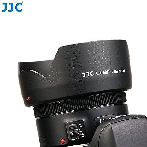 JJC lh-68ii Blume Form Gegenlichtblende für Canon EF 50mm f/1,8STM Objektiv (ersetzt Canon es-68)
