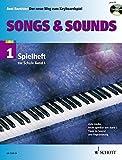 """Songs & Sounds: 56 Arrangements. Spielheft zu """"Der neue Weg zum Keyboardspiel 1"""". Band 1. Keyboard. Spielheft (Spielbuch) mit CD."""