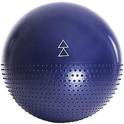 La Pelota de Ejercicio de Dualidad de Yoga Design Lab. Calidad de estudio, superficie antideslizante y bilateral, con tecnología anti-estallo. Diseñado para ayudarte a disfrutar de pilates, yoga y otros ejercicios de la pelota de fitness. 65cm (Infinity)