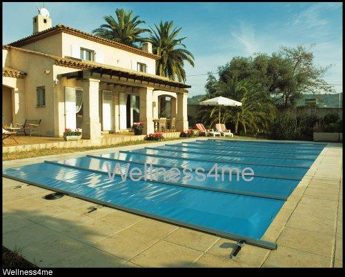 Well Solutions Schwimmbad Pool Sicherheits Abdeckung Sommer-Winter Ganzjahres Sicherheitsabdeckung mit Zertifikat Preis pro m² fix und fertig für...
