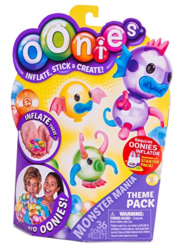 OONIES MEGA REFILL PACK INFLATABLE MINI BALLOONS THAT MAGICALLY STICK TOGETHER