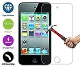 ZeWoo Le Film Protection En Verre Trempé - Pour Apple iPod Touch 4 - Le Filtre Protecteur D'écran(9H *2.5D, 0,3mm)