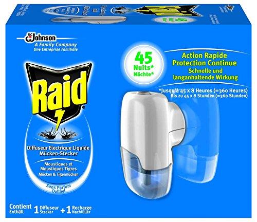 Raid Mücken-Stecker 45 Nächte Original, 27ml