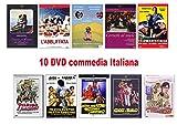 10 DVD Offerta Classici Italiani - genere Commedia Italiana, Comico (film con Lino Banfi, Alvaro Vitali…)