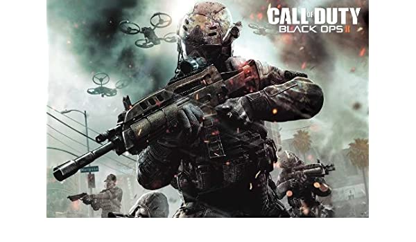 J-4610 Call of Duty Black Ops 2 Wall Decoration Game Poster