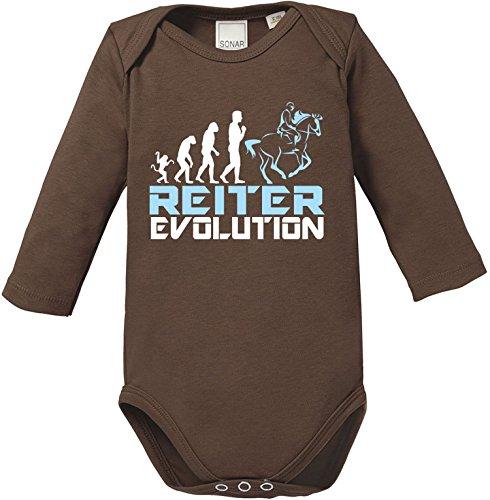 EZYshirt® Reiter Evolution Baby Body Longsleeve