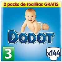 Dodot Pañales Talla 3 (5-10 kg) 144 pañales