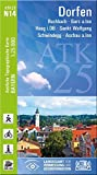 ATK25-N14 Dorfen (Amtliche Topographische Karte 1:25000): Buchbach, Gars a.Inn, Haag i.OB, Sankt Wolfgang, Schwindegg, Aschau a.Inn (ATK25 Amtliche Topographische Karte 1:25000 Bayern)