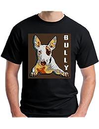 Velocitee Mens T-Shirt English Bull Terrier V154