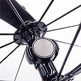 bescita Fahrrad Dual-Protokoll Smart Geschwindigkeit Sensor für Garmin Bryton iGS Stoppuhr, Bluetooth 4.0, Schwarz