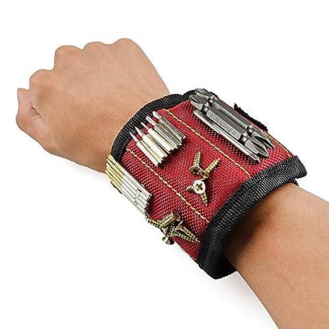 Lovetree Bracelet Sangle support pour ranger Clous, Vis, boulons, petits outils