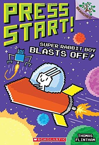 Super Rabbit Boy Blasts Off!: A Branches Book (Press Start! #5) por Thomas Flintham