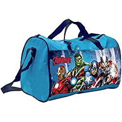 Bolsa Vengadores Hulk Capitán América Iron Man Thor Marvel 38x 20x h.23cm