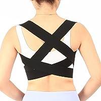 Aptoco verstellbarer Rückenstützgürtel, Schulterbandage, Korsett, Linderung bei Rückenschmerzen, Orthopädische... preisvergleich bei billige-tabletten.eu
