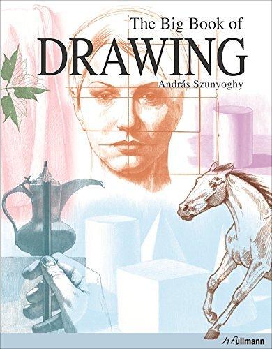 Portada del libro The Big Book of Drawing by Andras Szunyoghy (2012-10-15)