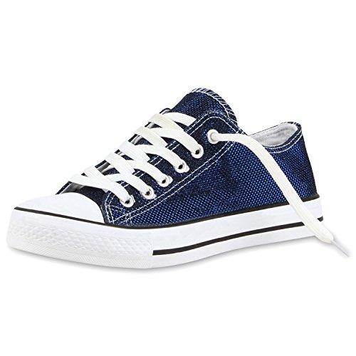 Japado , Sneakers Basses femme Bleu - Bleu foncé