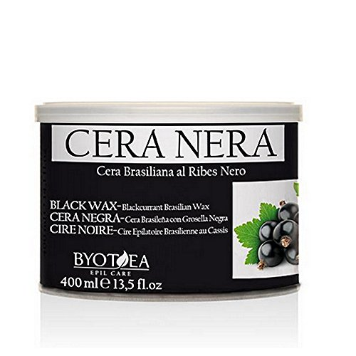 Cera Depilatoria Nera Brasiliana Al Ribes Nero 400 ml - Byotea