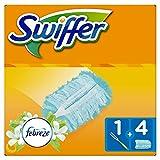 Swiffer - Kit Plumeau Attrape-Poussière Duster + 4Recharges
