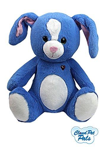 Wolke Haustier Kumpel Häschen Kuscheliges Spielzeug Kinder Umarmbares Blaues Plüsch Kaninchen