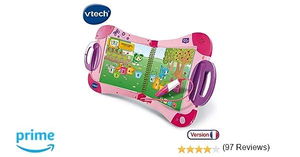 Vtech Magibook Starter Pack Rose Livre Interactif Enfant
