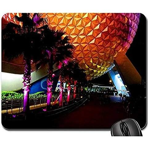 epcot-at-night-non-slip-rubber-gaming-mouse-pad-size-9-inch220mm-x-7-inch180mm-x-1-83mm-modern-mouse