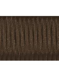 Sacoora - Cuerda de paracaídas de 100FT, nailon de 550, tipo III, 7 hilos, negro