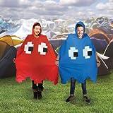 UK-ImportRetro-Arcade-Poncho-Red