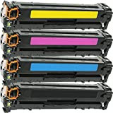 4Inktoneram replacement cartucce di toner per HP 312x 312a cartucce di toner HP CF380X CF381A CF383A CF382A Combo Pack color LaserJet Pro MFP M476DN M476NW M476DW