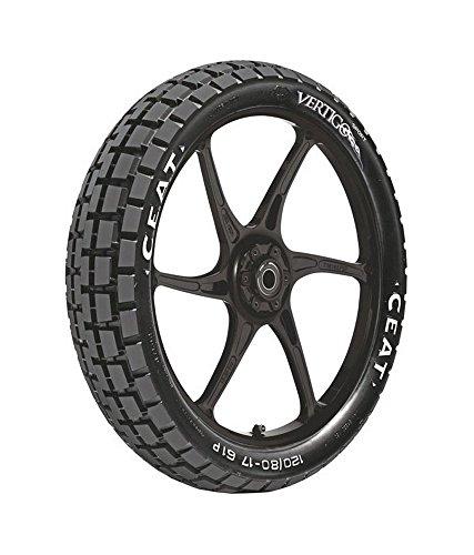 ceat vertigo sport p100/90 - 17 bias tubeless bike tyre, rear Ceat Vertigo Sport P100/90 – 17 Bias Tubeless Bike Tyre, Rear 51OVPo ZE1L