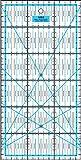 Patchwork Lineal Zentimeterraster 30 cm x 15 cm - Blau