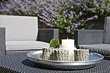 Allibert Tisch, Garten, Allibert Tisch Arica, grau mit Stauraum - 6